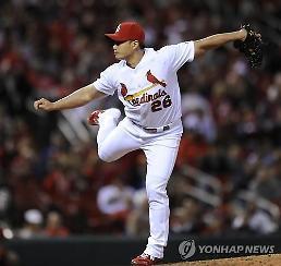 오승환, MLB 두 번째 홈런 허용…1이닝 2K 1실점