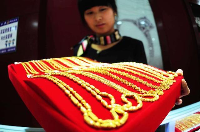 중국 상반기 금 소비량 '뚝'