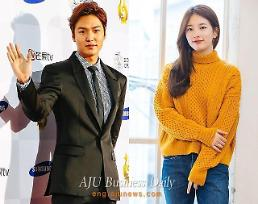 .Suzy and Lee Min-ho deny reports of break-up.