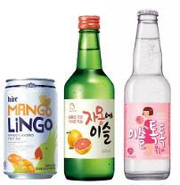이슬톡톡·자몽에이슬 효과…하이트진로, 기타주류 판매 4배↑