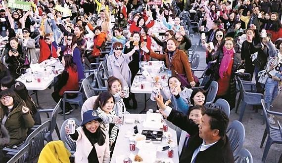今年7月访韩中国游客97万 为单月最高纪录