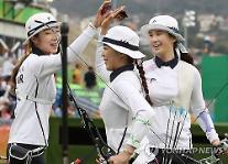 韓国女子アーチェリー、団体戦金メダル!・・・五輪8連覇達成