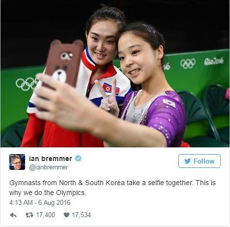 """世界齐点赞 韩国17岁女子体操选手李恩珠演绎""""奥运外交"""""""