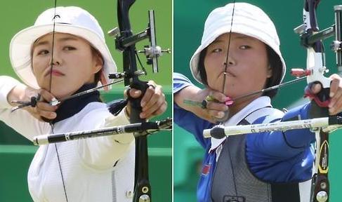 """女子射箭个人赛张慧珍·姜云珠晋级16强 首场""""南北大对决""""将上演"""