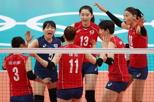 韩国女排3-0完胜阿根廷 8强晋级基本确定