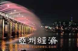 【韩国景点】韩国著名景点之盘浦大桥