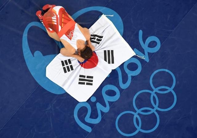 摔跤选手金炫雨摘铜 韩国队居奖牌榜第十位
