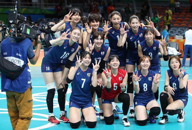 韩女排队将于16日22时与荷兰队交手 争夺4强席位