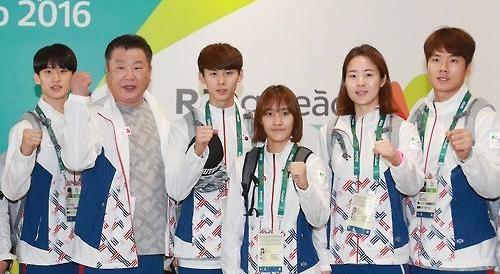 韩跆拳道五兄妹17日起向金牌发起冲击