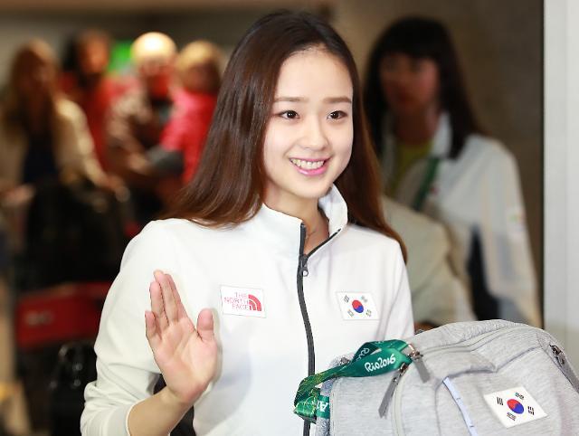 韩体操精灵孙妍在争夺奖牌信心满满