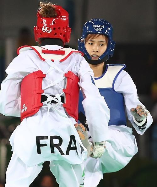 韩跆拳道49公斤级选手金小熙进决赛点燃夺金希望