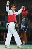​(Oly) ​Kim So-hui wins taekwondo gold: Yonhap