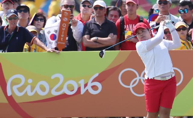 韩国高尔夫名将朴仁妃领先前两轮