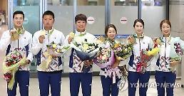 리우올림픽 한국선수단 해단식...메달리스트 집결