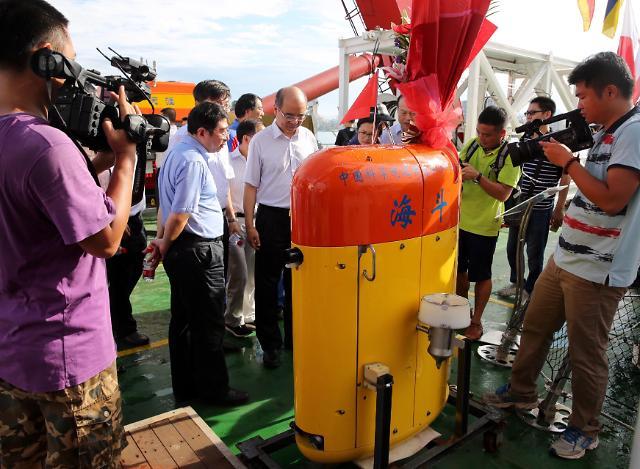 [영상중국] 중국 무인잠수정 해저 1만m 심해탐사 성공