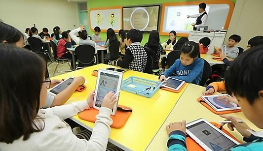韩国小学中学将于2018年全面普及电子教科书