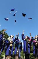 毕业啦!韩国大学迎来秋季毕业季