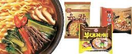 .韩国高价方便面市场中式口味谢幕  韩式口味人气骤增.