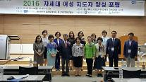 WISET 울산사업단, 2016 울산지역 차세대 여성 지도자 양성포럼