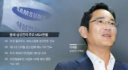 Samsung heir moves closer to taking over group ownership