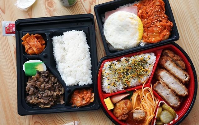 韩国便利店盒饭热销 引领新型午餐文化