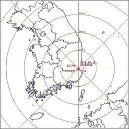 庆州西南发生4.5级余震