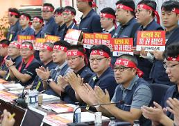 .South Korean bank union calls for crippling strike this week.