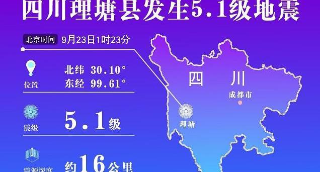 중국 쓰촨성 규모 4.9, 5.1 지진 잇따라 발생