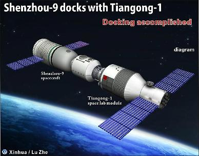 .Out-of-control Chinese space station to crash onto Earth in 2017.