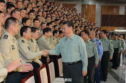 [영상중국] 시진핑 로켓군 사령부 첫 시찰 '더욱 강하고 현대화시킬 것' 강조