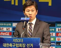 South Korean football chief named AFC vice president
