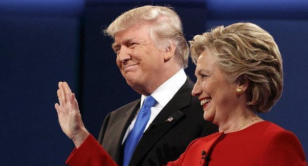 [美대선] 세기의 대결 1차 토론은 클린턴 승리