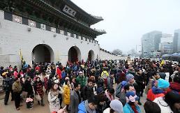 """25万中国游客国庆""""占领""""韩国"""