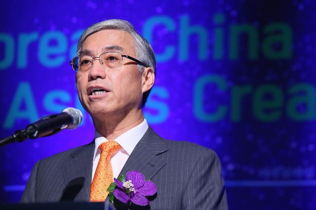 邱国洪:加强创新驱动力 推动中韩日合作迈上新台阶