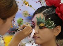 充满艺术气息的美妆竞赛