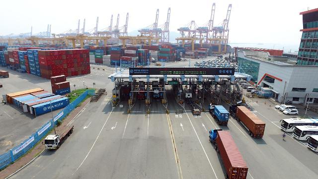 韩8月国际收支经常项目顺差55.1亿美元 进口时隔23个月呈增势