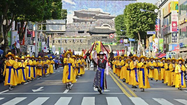 首尔携手水原市 再现正祖大王巡幸陵墓场景