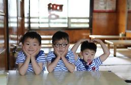 .宋一国SNS发布儿子照片 三胞胎可爱依旧.
