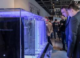 Samsung unveils Tizen-powered premium smart signage displays