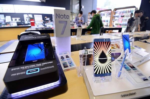 三星在中国大陆召回19万台Note 7 可全额退款