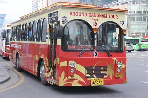 首尔城市旅游巴士江南环线延长至乐天世界大厦