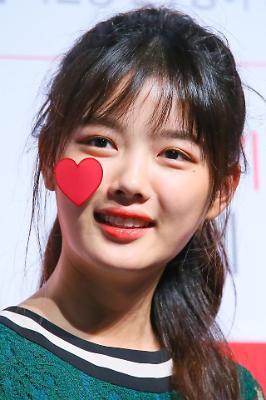 김유정, 심쿵 미모