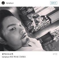 '달의연인 보보경심려' 홍종현 왕요 죽는날. 안녕 왕요 아이유와 다정샷 [★SNS#]