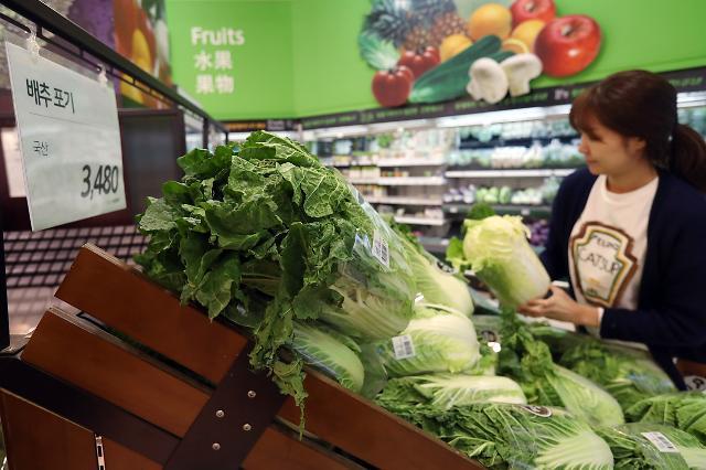 韩10月份CPI同比上升1.3%  农副产品价格翻一番