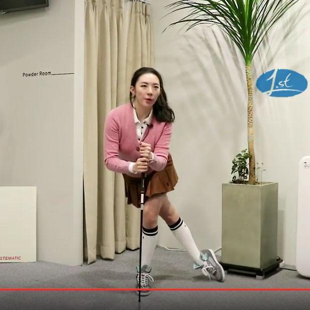 [골프 스트레칭 동영상] 24. 백스윙에 필요한 근육을 풀어주는 동작
