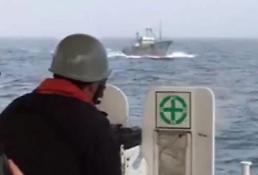 S. Korea coastguard uses machine gun to chase away Chinese boats
