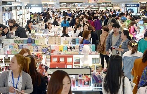 中国游客国庆节前后韩国刷卡消费近5000亿韩元