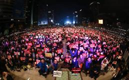Prosecutors vow to question President Park early this week: Yonhap