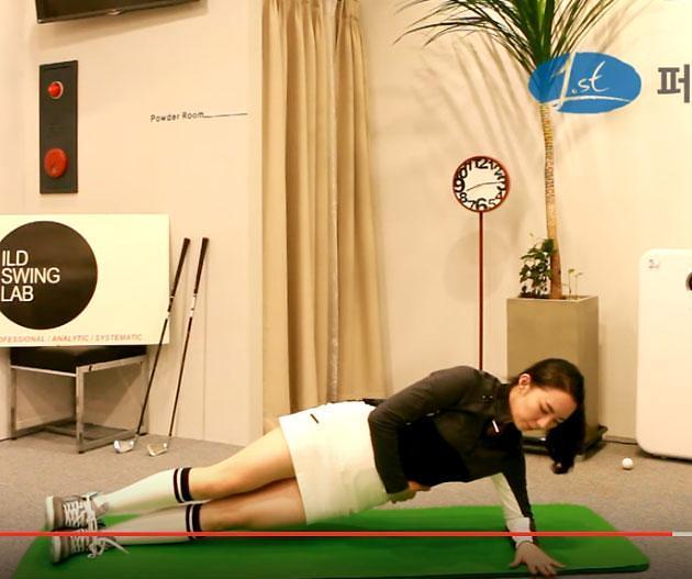 [골프 스트레칭 동영상] 25. 다양한 상황에도 좋은 샷을 유지하는 근력운동