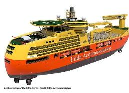 Hyundai shipyard allowed to own Eddas accommodation vessel